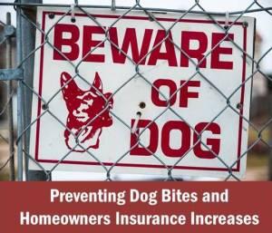 Dog Bites & Homeowners Insurance